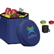 Bongo Cooler/Seat - Fully-insulated, collapsible cooler.