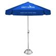 Vented Bistro Umbrella - Commercial Quality Patio Umbrella - Commercial quality patio umbrella with 7' vented canopy arc.