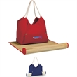 Cabo Beach Tote - Beach tote with soft cotton, polyester rope handles.