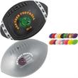 """Mini Vinyl Football - Mini vinyl football, 7"""". Features a re-inflatable athletic valve."""