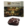 Individual Dark Chocolate Caramel with Seasalt - Individually wrapped dark chocolate seasalt caramel in a four color process wrapper.