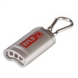 "Magnetic Pop-Off Keylight - 1.25"" x 2.56"" x 0.75"" key chain with three LED bulbs and magnetic carabiner."