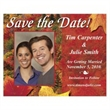 Autumn Save the Date Magnet