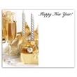Gold and Silver Celebration Save the Date Magnet -