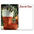 Holiday Stocking Save the Date Magnet