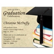 Graduation Cap Save the Date Magnet