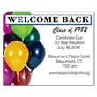 Reunion / Balloons Save the Date Magnet