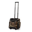 Ice River Rolling Cooler Camo - 48 can capacity rolling cooler with padded side handles, telescopic locking handle, side zippered pockets and camouflage design.