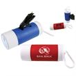 Dog Bag Combo Clip w/ Flashlight & 25 Bags - Dog Bag Combo Clip with Flashlight & 25 bags