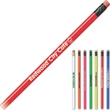 Eco Pencil™ - Durable no. 2 pencil with assorted colored neon erasers.
