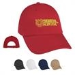 Washed Cotton Cap - Washed Cotton Cap.  100% Washed Cotton Twill, 6 Panel, Low Profile. Unstructured Crown & Pre-Curved Visor.