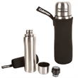 1L Vacuum Bottle with Sleeve - Stainless Steel (1 Quart) - Coleman 1L (1 Quart) Stainless Steel Vacuum Bottle with Sleeve