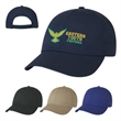 USA Made Cotton Cap - USA Made Mesh Back Cap.  Made of 100% Cotton Poplin.  6 Panel, Low Profile & Unstructured Crown.