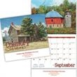 Kingswood Collection Country Memories Appointment Calendar - Country Memories 13 month stitched appointment calendar