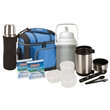 Worker's Lunch Package - Worker's Lunch Package includes: Soft Cooler, 2 Stainless Steel Vacuum Bottles, 1/3 Gallon Jug and (2) ice pack substitutes.