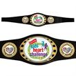 Custom Vibraprint Champion Award Belt