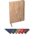 Casablanca™ Journal - 80-page journal with simulated cork textured cover.