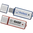 Metallic Drive Tier 1 - Easy plug-n-play data storage hi-speed USB 2.0 flash drive.