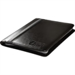 Alpha™ Zip-Around Portfolio with Tablet Case and Calculator - Glazed faux leather tablet portfolio with calculator.