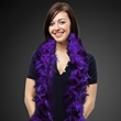 Purple Adult Size Feather Boa