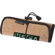 Sierra™ Roll-Up Tech Case - Burlap roll-up case accented with neoprene fabric