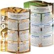 Swell Desk Calendar - Swell Desk Calendar with 360 degree Full Color Design.