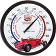 "Caliente 14"" Wall Thermometer - Black 14"" wall thermometer."