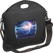Laptop Brief - Neoprene - Neoprene laptop sleeve with large zippered main compartment.