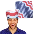 "American Flag Bandanas - Our red, white and blue Stars and Stripes forever 21"" polyester bandanas are perfect for any Patriotic Promotion"