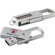 "16GB Metal Swing Drive (TM) Tier 1 - Executive metal 1 3/4"" long hi-speed USB 2.0 flash drive."
