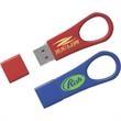 4GB Ultra Drive (TM) Tier 1 - Premium metal USB with loop in cool colors!