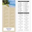 Economy Collection Beach 2-Sided Calendar - 2 sided calendar with calendar view.