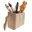 Crate Pen Holder