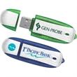 8GB Metallic Drive (TM) Tier 1 - Brushed metallic finish hi-speed USB 2.0 flash drive.