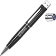 1GB Pen Flash Drive Tier 1 - Hi-speed USB 2.0 pen flash drive with easy access cap and chrome trim.