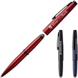 Axonite™ Stylus Pen - This ultramodern bullet-shaped executive pen features the reactive connectivity of an exception microfiber stylus