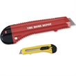 Jumbo Snap Blade Utility Knives - Jumbo utility knife with blade snap off points and high impact plastic body.