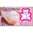 Bear Kiss-cut Appointment Card - Bear Kiss-cut Appointment Card