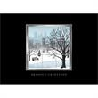 """Window Greetings Greeting Card - Greeting card with """"Season's Greetings,"""" and a window scene on front."""