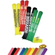 Pair of Inflatable Fan-ta-Sticks - Re-inflatable and re-usable pair of vinyl noisemakers makes events come alive.