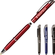 Zentrio™ Triple Function Pen - Triple function pen with LED flashlight, capacitive stylus tip, and ballpoint pen