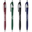 Javalina™ Corporate Pen - Javalina Corporate has an hourglass shape, corporate colors w/gray accents & guaranteed ultra-smooth writing ink blue or black