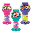 """9-3/4"""" Assorted Color Spiral Gumball Machine - 9-3/4"""" Assorted Color Spiral Gumball Machine"""