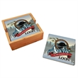 """Ceramic Coasters - 4"""" x 4"""" ceramic coasters that are sold separately with an optional bamboo wood tray"""