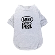 Pet T-Shirt - 1-color Imprint) - Machine washable pet T-shirt made of 60% cotton, 40% polyester with one-color/one-location screen imprint.