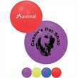 Mini Squeaky Play Ball - Mini squeaky pet play ball is made of a soft vinyl with a squeaker inside.