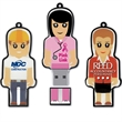 512MB Mini Me (TM) Drive ME - Mini hi-speed USB 2.0 flash memory drive shaped like a person