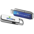 "16GB Slider (TM) Drive - 2 3/4"" long sliding hi-speed USB 2.0 flash memory drive"