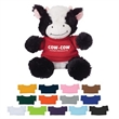 """6"""" Cuddly Cow - These Cute, Cuddly 6"""" Plush Cow are a Great Way to Show your Logo and get Your Message Across."""