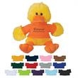 """6"""" Delightful Duck - These Cute, Cuddly 6"""" Plush Duck are a Great Way to Show your Logo and get Your Message Across."""